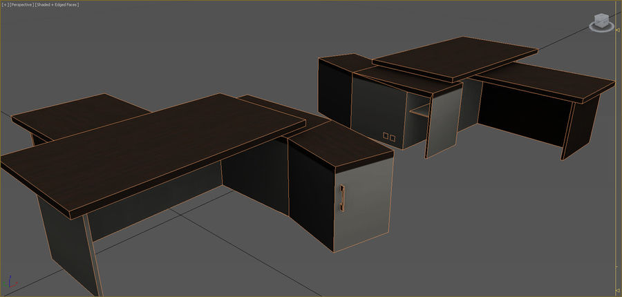Office Furniture Collection royalty-free 3d model - Preview no. 97