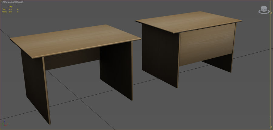Office Furniture Collection royalty-free 3d model - Preview no. 45