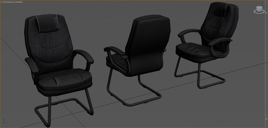 Office Furniture Collection royalty-free 3d model - Preview no. 35