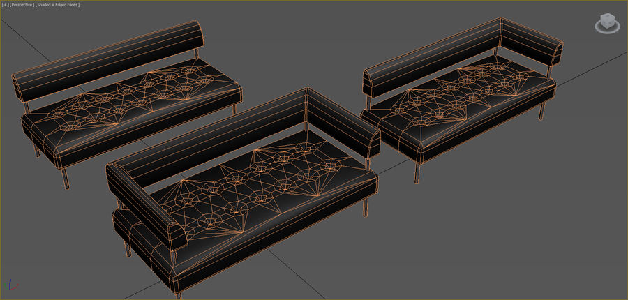 Office Furniture Collection royalty-free 3d model - Preview no. 82