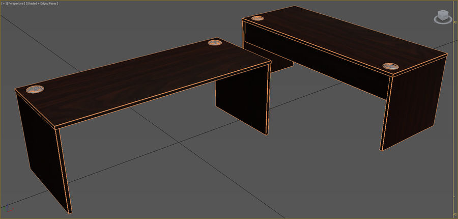 Office Furniture Collection royalty-free 3d model - Preview no. 91