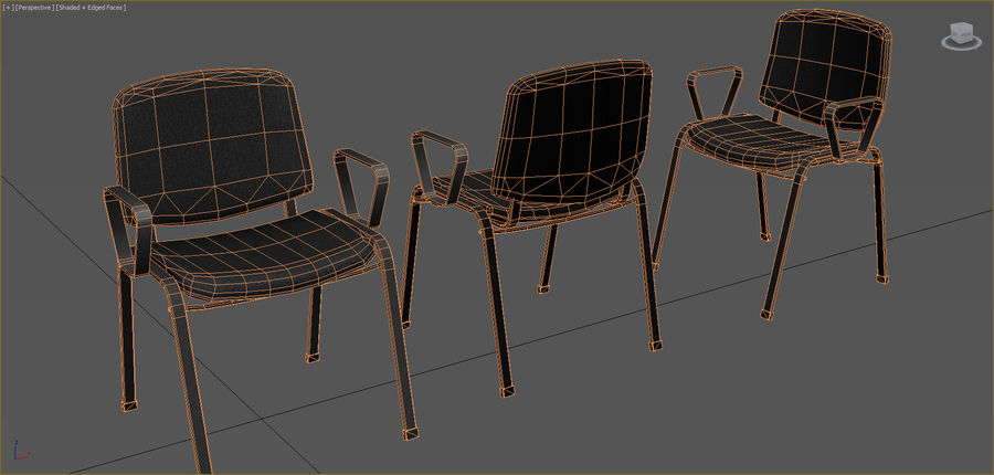 Office Furniture Collection royalty-free 3d model - Preview no. 29