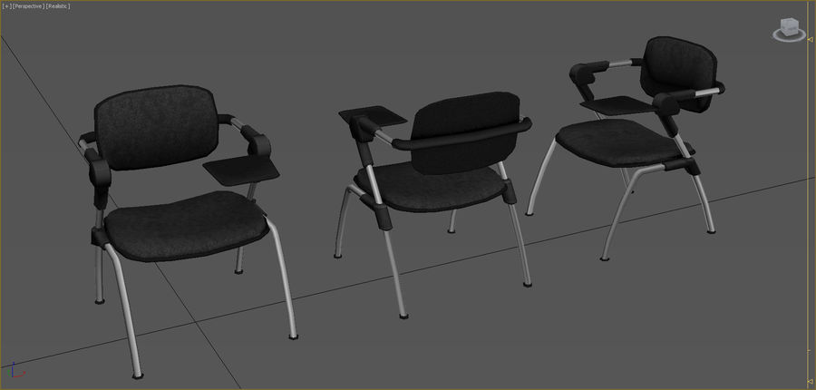 Office Furniture Collection royalty-free 3d model - Preview no. 34