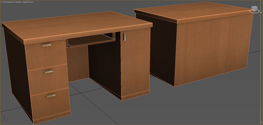 Office Furniture Collection royalty-free 3d model - Preview no. 43