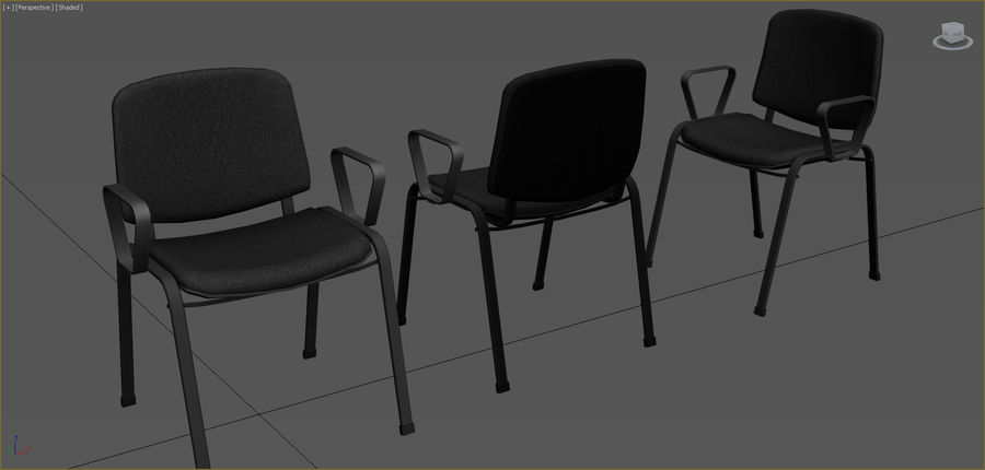 Office Furniture Collection royalty-free 3d model - Preview no. 28