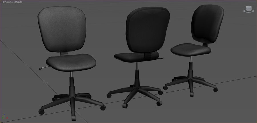 Office Furniture Collection royalty-free 3d model - Preview no. 4