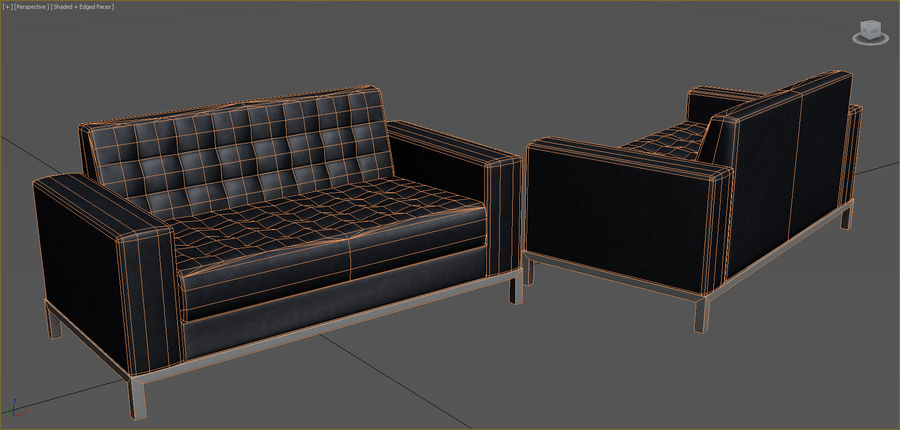 Office Furniture Collection royalty-free 3d model - Preview no. 79