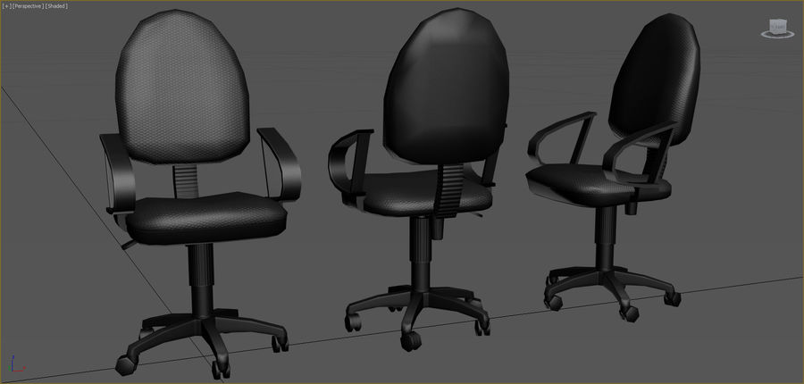 Office Furniture Collection royalty-free 3d model - Preview no. 7
