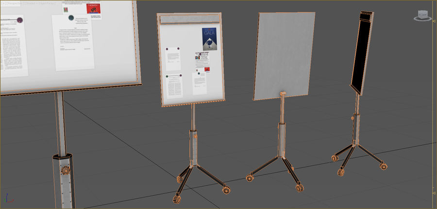 Office Furniture Collection royalty-free 3d model - Preview no. 64