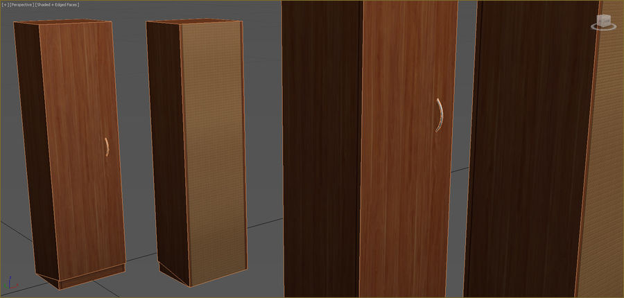 Office Furniture Collection royalty-free 3d model - Preview no. 109