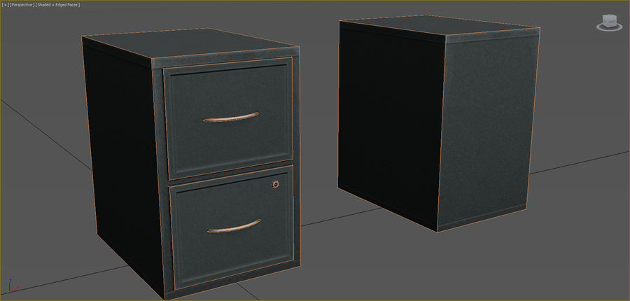 Office Furniture Collection royalty-free 3d model - Preview no. 17