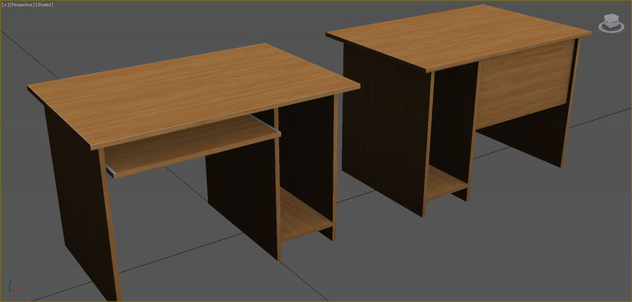 Office Furniture Collection royalty-free 3d model - Preview no. 93