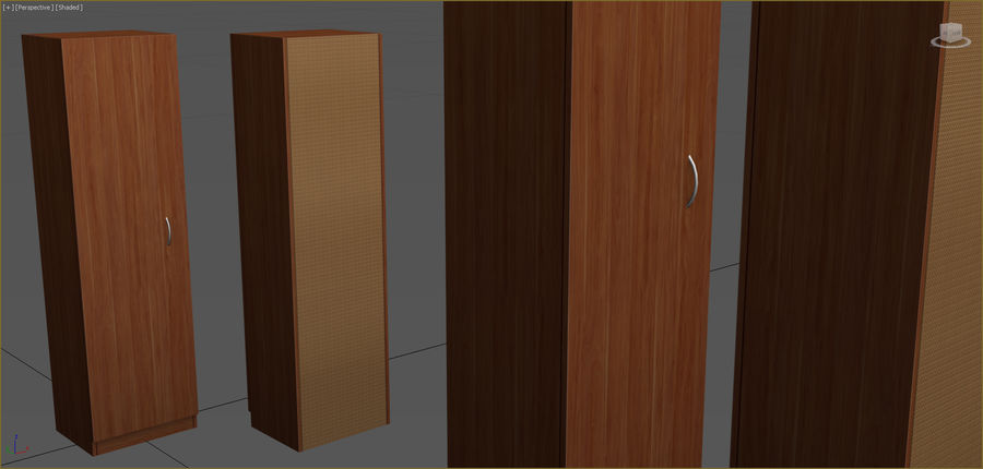 Office Furniture Collection royalty-free 3d model - Preview no. 108