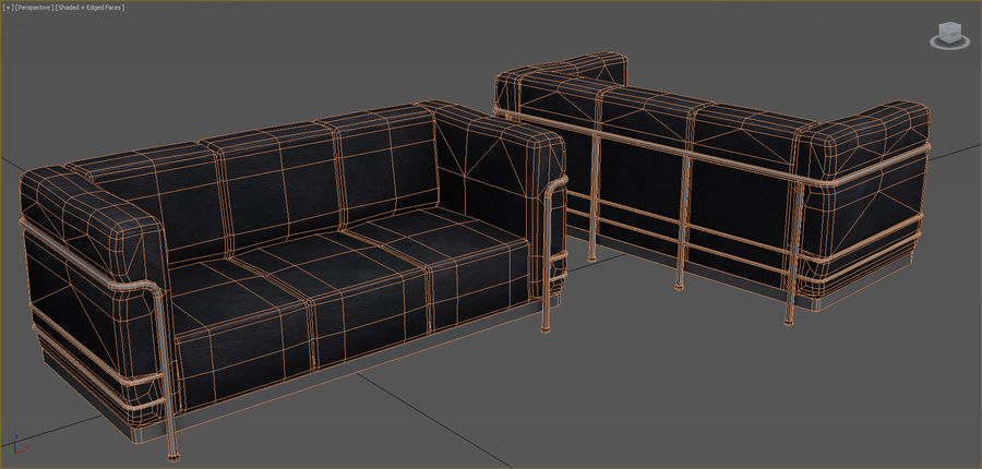 Office Furniture Collection royalty-free 3d model - Preview no. 76