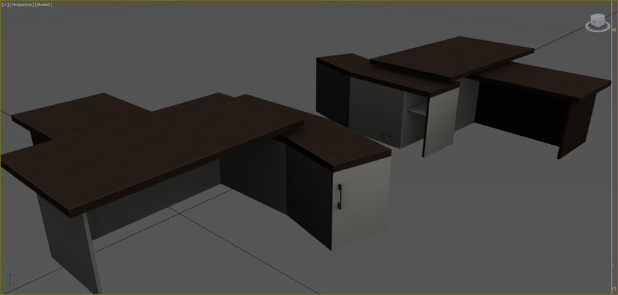 Office Furniture Collection royalty-free 3d model - Preview no. 96