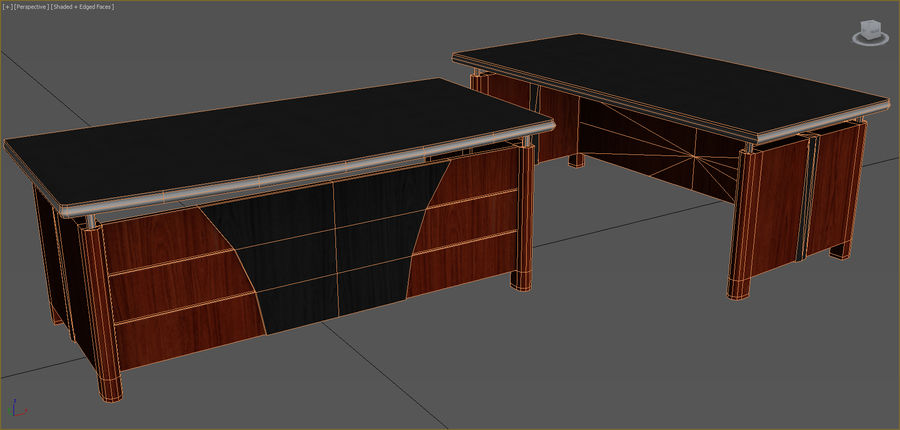 Office Furniture Collection royalty-free 3d model - Preview no. 55