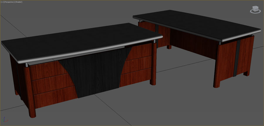 Office Furniture Collection royalty-free 3d model - Preview no. 54