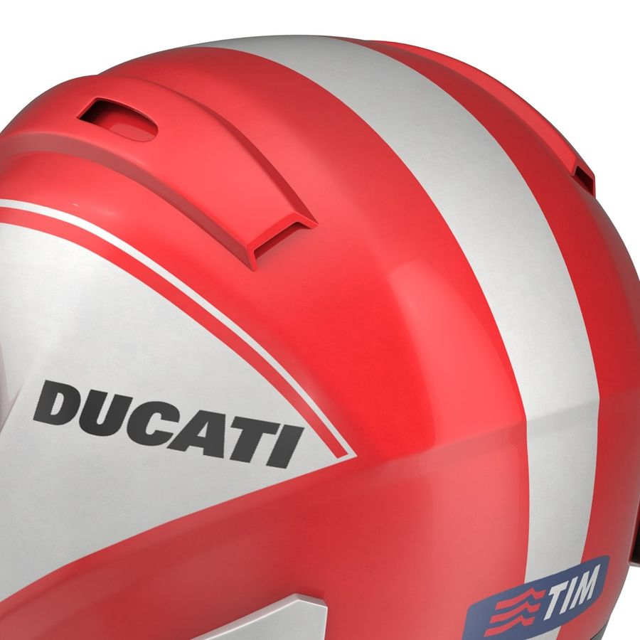 Motorcycle Helmet royalty-free 3d model - Preview no. 15