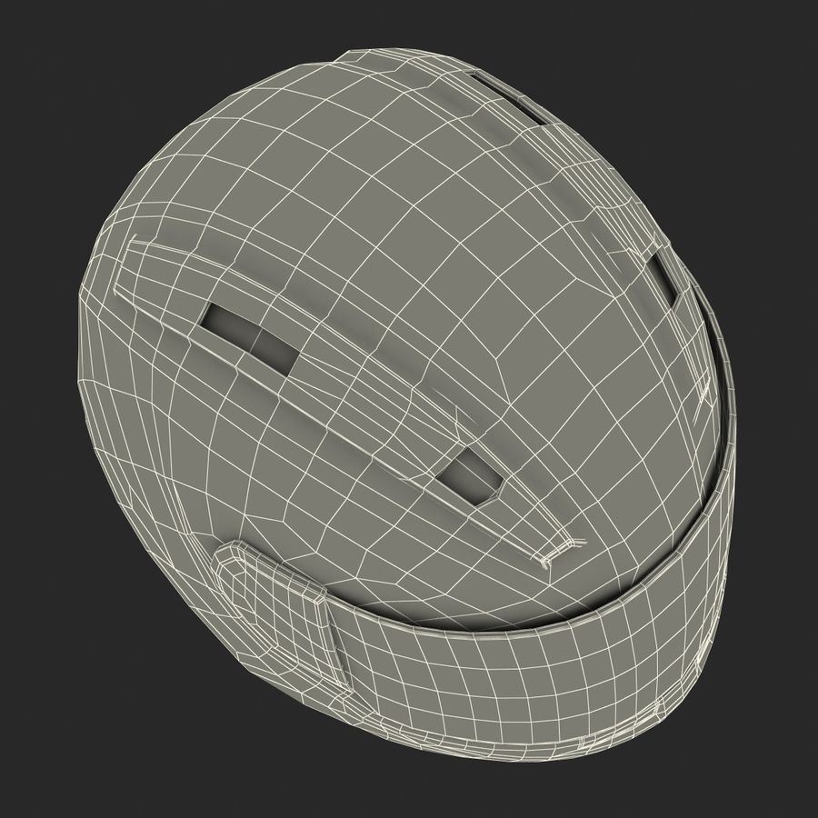 Motorcycle Helmet royalty-free 3d model - Preview no. 26