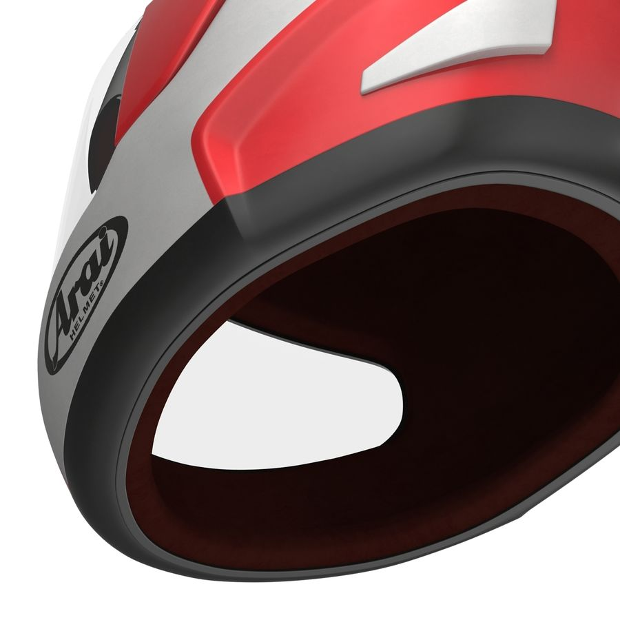Motorcycle Helmet royalty-free 3d model - Preview no. 18