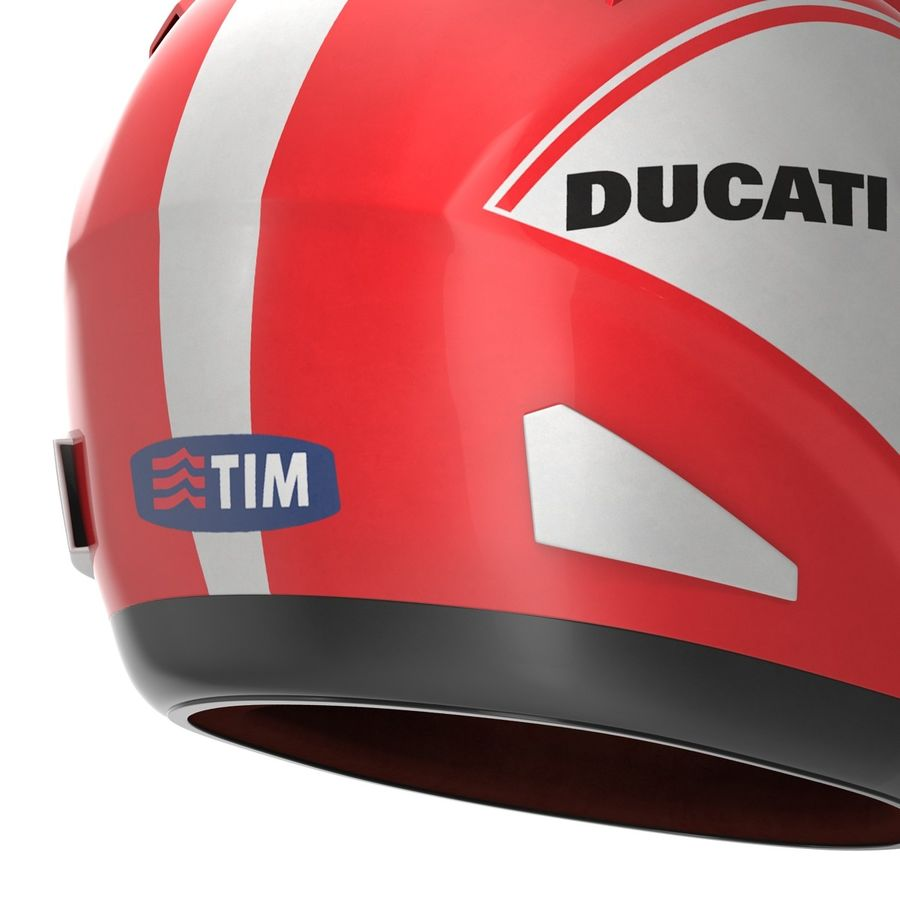 Motorcycle Helmet royalty-free 3d model - Preview no. 16