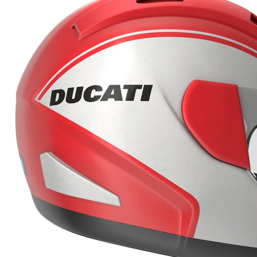 Motorcycle Helmet royalty-free 3d model - Preview no. 17