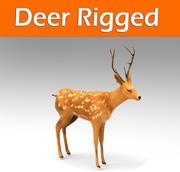 deer rigged(1) 3d model
