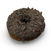 Donut De Chocolate 3d model