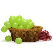 Green Grapes 3d model