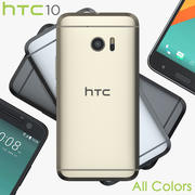 HTC 10 All Colors 3d model