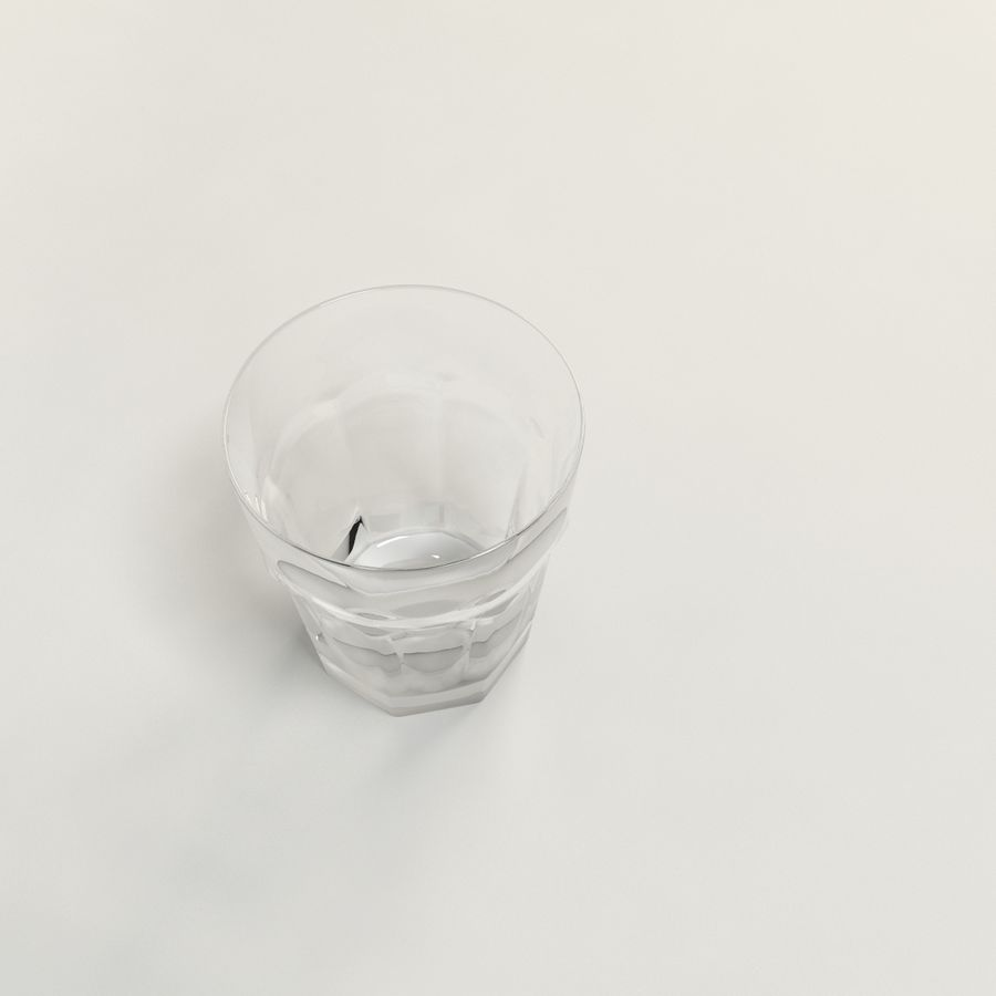 clear glass royalty-free 3d model - Preview no. 6