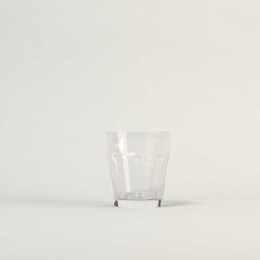 clear glass royalty-free 3d model - Preview no. 1