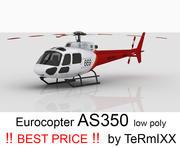 ユーロコプターAS350スキン3 3d model