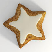 Cookie_star_1 3d model
