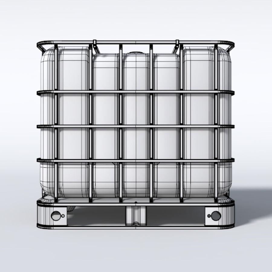 IBC контейнер для воды royalty-free 3d model - Preview no. 5