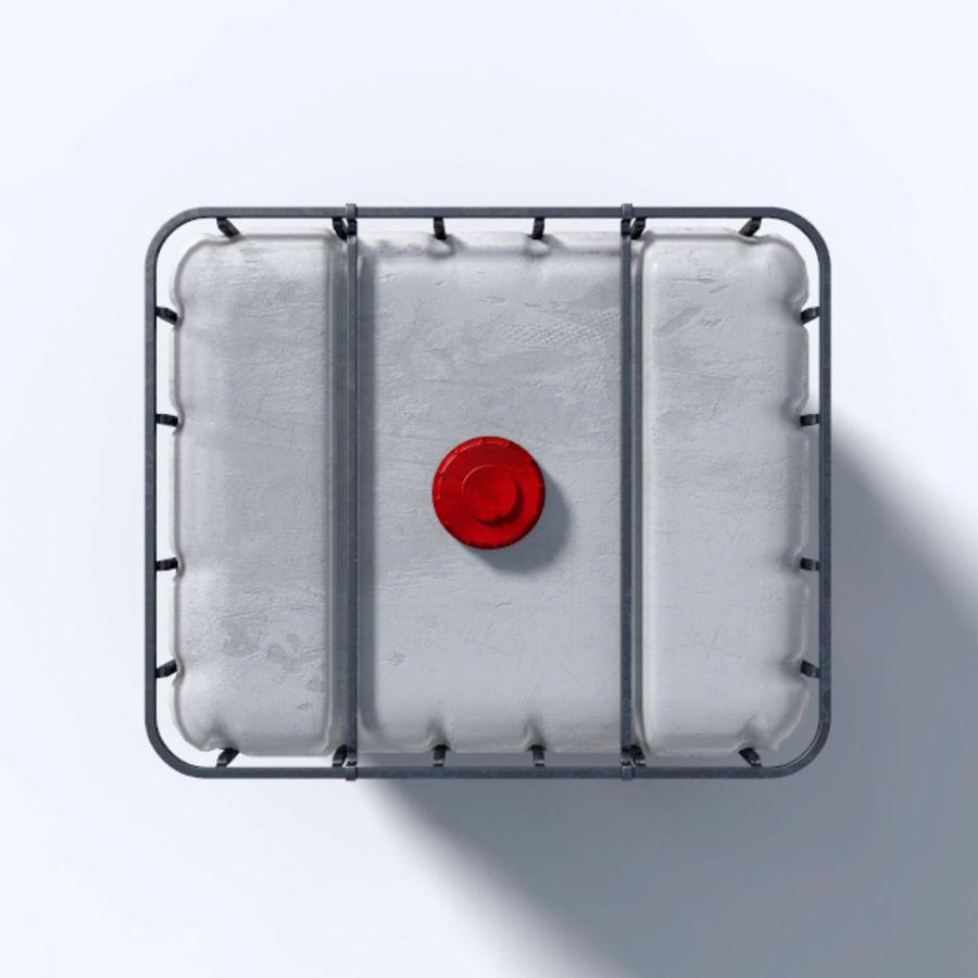 IBC контейнер для воды royalty-free 3d model - Preview no. 3