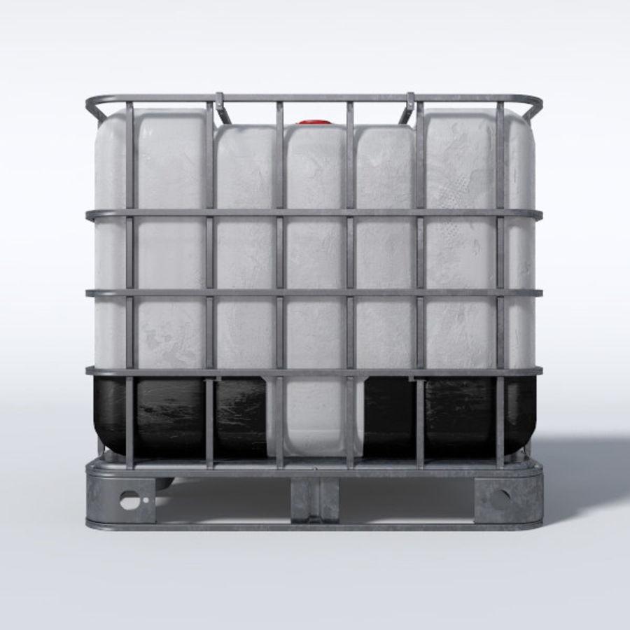 IBC контейнер для воды royalty-free 3d model - Preview no. 2