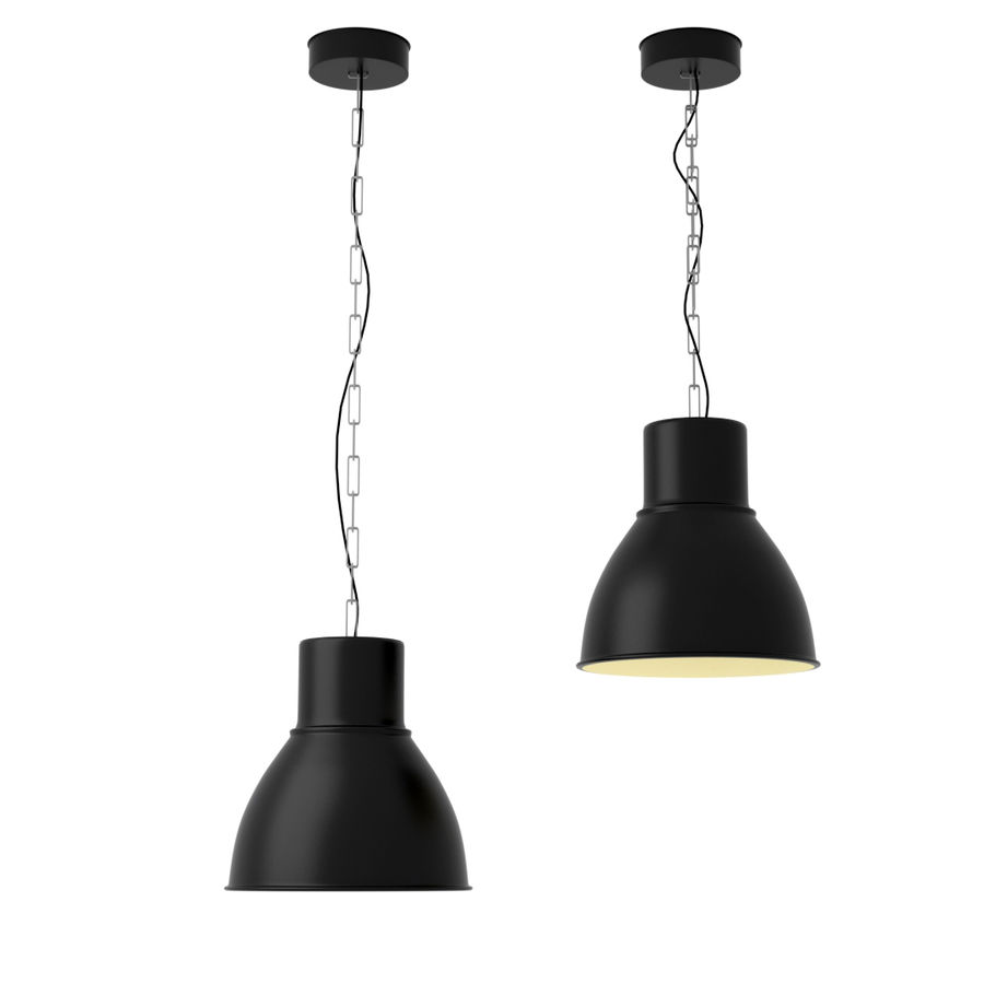 Hanging Ceiling Light 3d Autocad Model: Pendant Lamp Ikea 3d Model