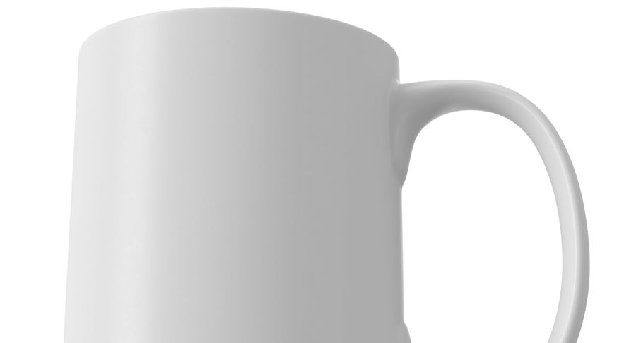 Empty Cup royalty-free 3d model - Preview no. 9