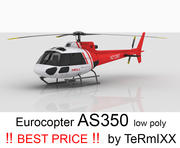 Eurocopter AS350 Cilt 4 3d model