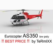 Eurocopter AS350 Skin 4 3d model