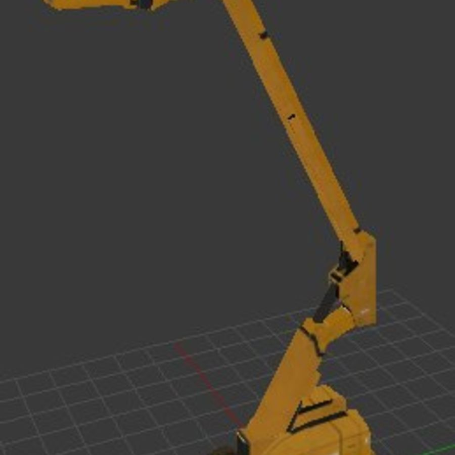 Crate Platform royalty-free 3d model - Preview no. 3