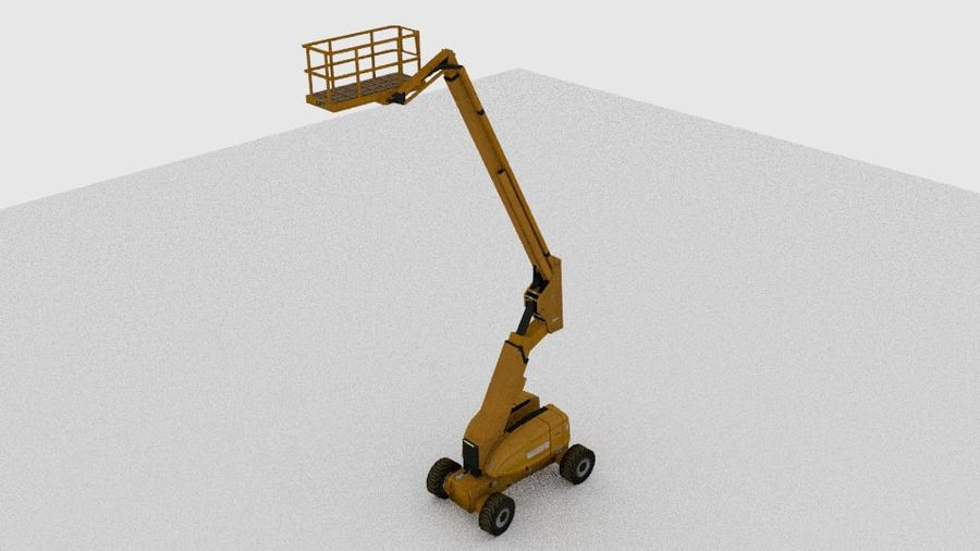 Crate Platform royalty-free 3d model - Preview no. 1