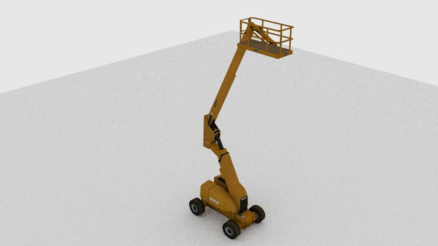 Crate Platform royalty-free 3d model - Preview no. 2