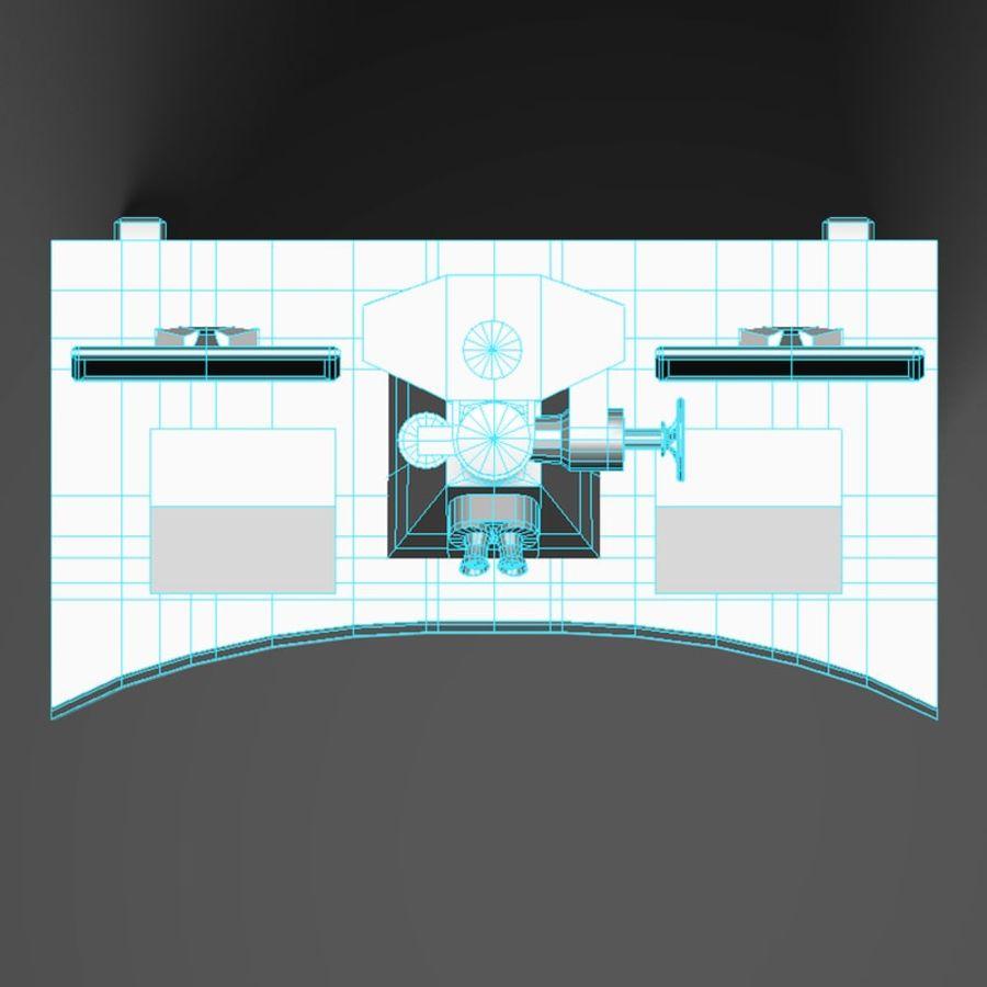 Microscopio elettronico royalty-free 3d model - Preview no. 20