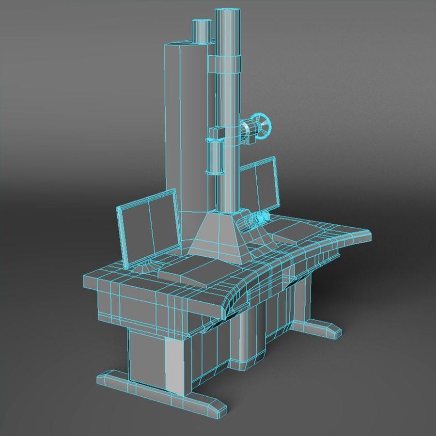 Microscopio elettronico royalty-free 3d model - Preview no. 11