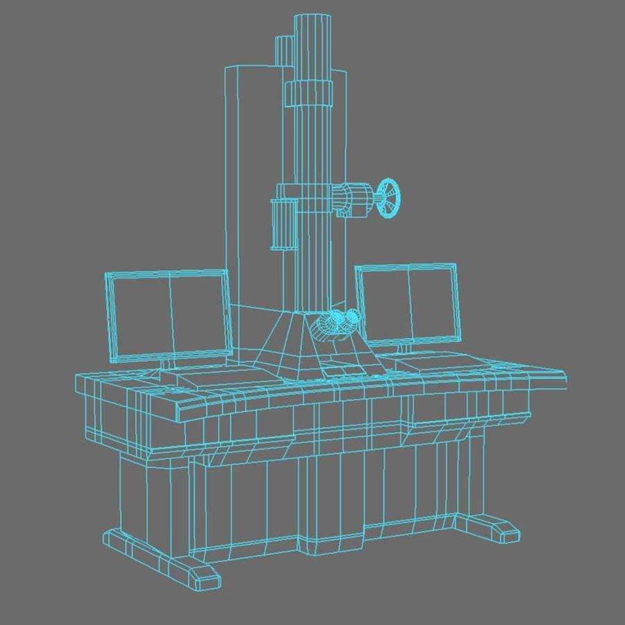 Microscopio elettronico royalty-free 3d model - Preview no. 3