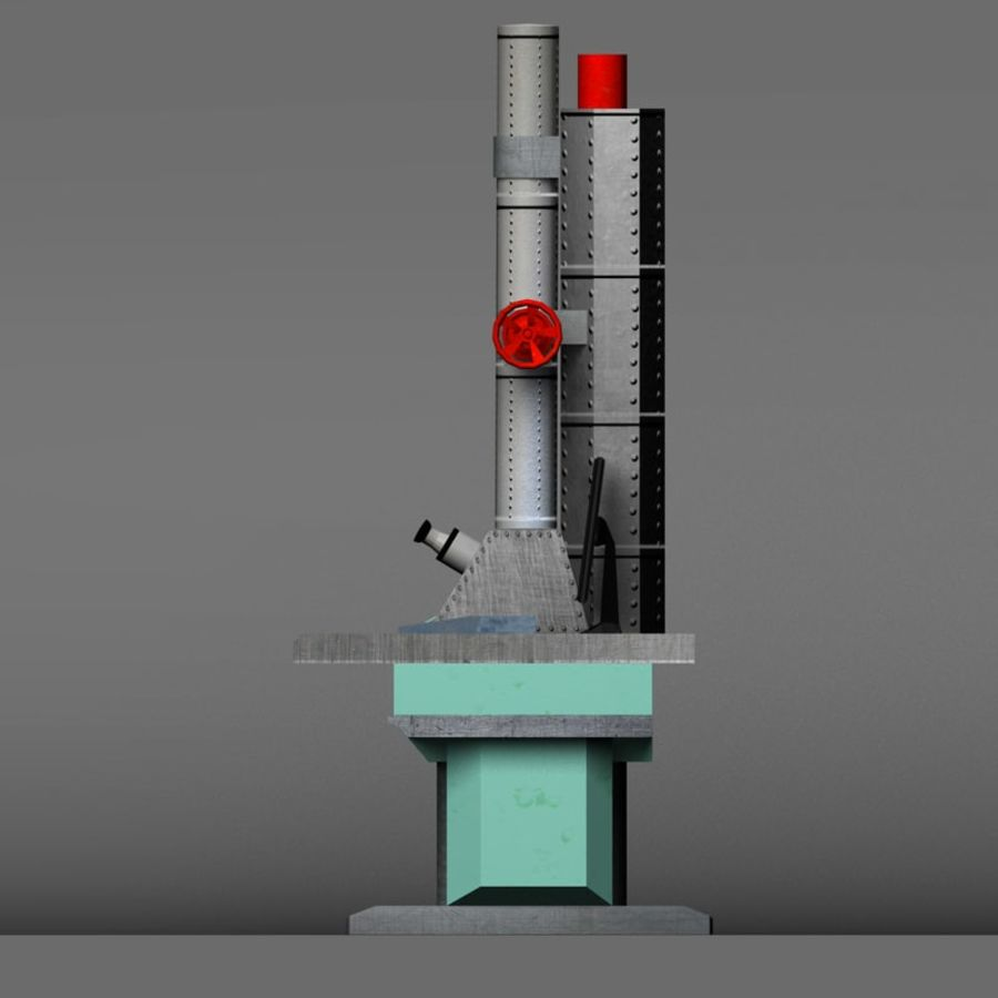 Microscopio elettronico royalty-free 3d model - Preview no. 16