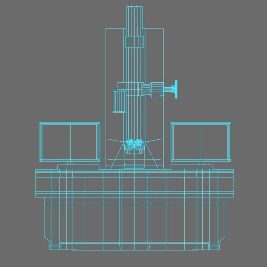 Microscopio elettronico royalty-free 3d model - Preview no. 15