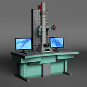 Microscopio elettronico 3d model